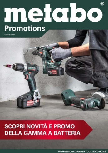 Metabo Promotions 2021